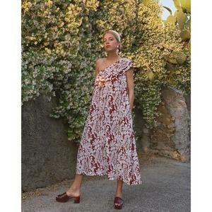 NWT Stine Goya Red Daffodil TIni Dress Small